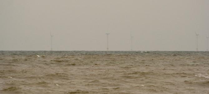 Noordzee voor de kust van Castricum