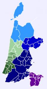 Samenwerkingsregio's_Noord-Holland_(2014)